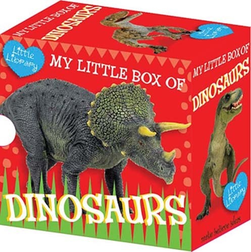 9781848792104: Little Library: My Little Box of Dinosaurs