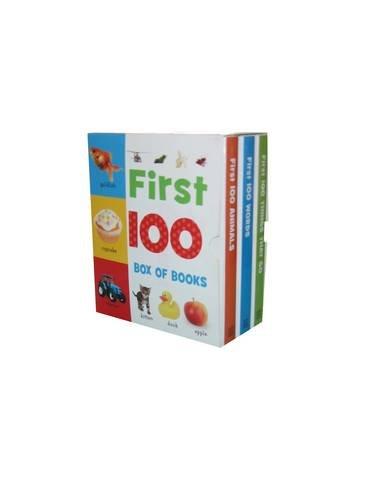 9781848792326: First 100 Little Box of Books