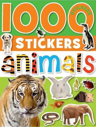 9781848792463: 1000 Stickers Animals