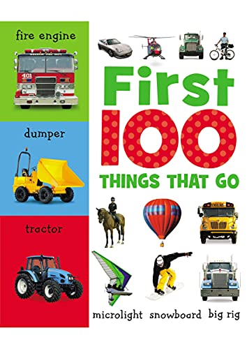 9781848793095: First 100 Things That Go