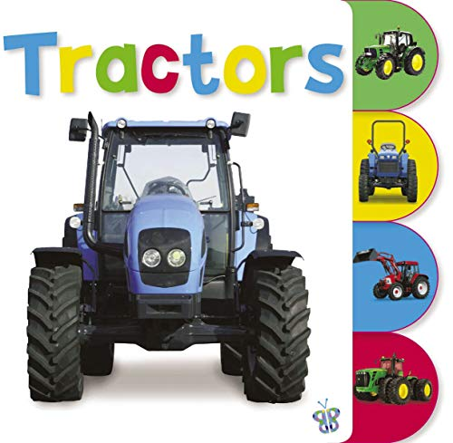 9781848793491: Tabbed Tractors (Busy Baby)