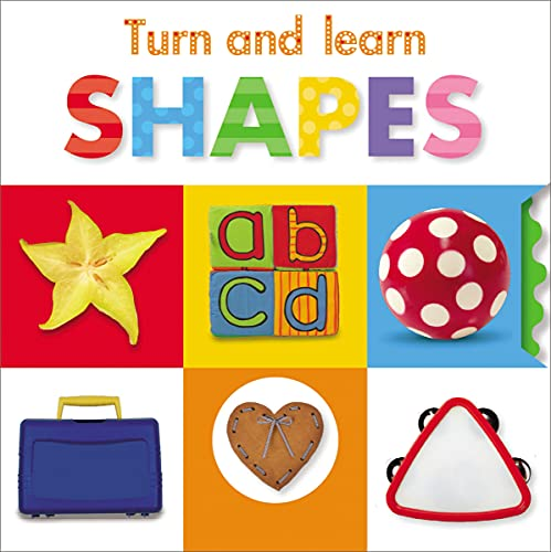 9781848796379: Turn and Learn: Shapes (Turn and Learn (Make Believe))