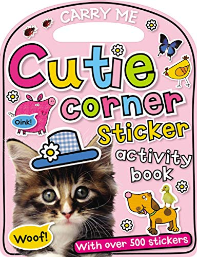 Fun on the Run: Cutie Corner Sticker Activity Book (Carry-Me) (1848796625) by Make Believe Ideas