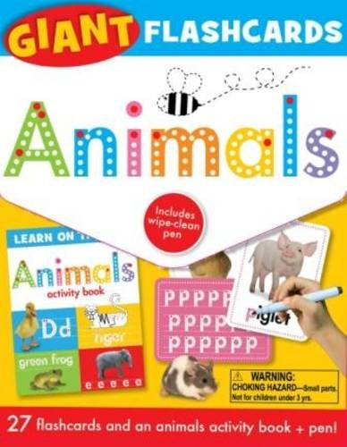 9781848798274: Animals: Giant Flashcards (Learn on the Go)