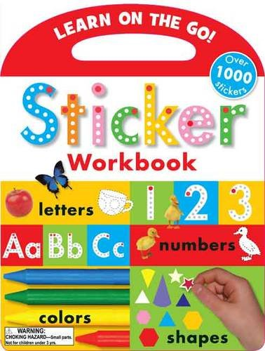 9781848798373: Sticker Workbook (Learn on the Go)