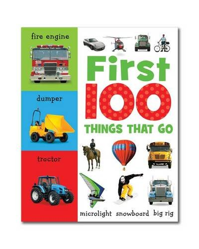 9781848799660: First 100 Things That Go: Mini Board Book