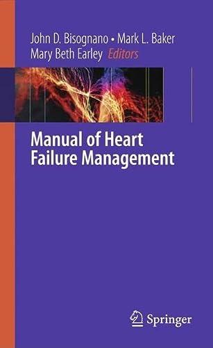 9781848821842: Manual of Heart Failure Management