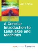 9781848822092: A Concise Introduction to Languages and Machines (Undergraduate Topics in Computer Science)