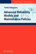 9781848822276: Advanced Reliability Models and Maintenance Policies (Springer Series in Reliability Engineering)