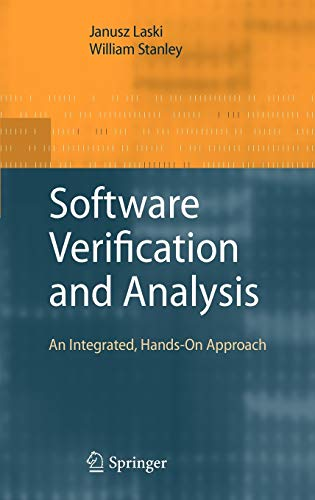 9781848822399: Software Verification and Analysis: An Integrated, Hands-On Approach
