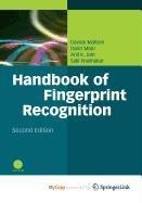 9781848822689: Handbook of Fingerprint Recognition