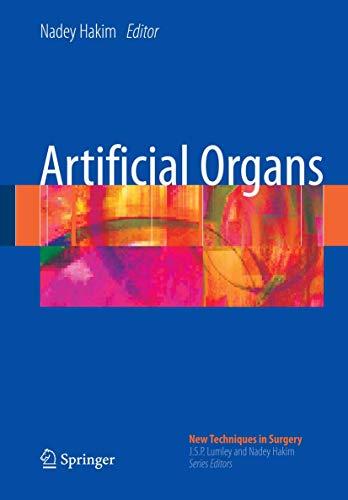 Artificial Organs (Hardcover): Nadey Hakim