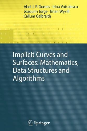 9781848824164: Implicit Curves and Surfaces: Mathematics, Data Structures and Algorithms