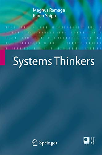 9781848825246: Systems Thinkers