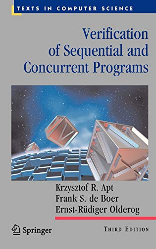 9781848827448: Verification of Sequential and Concurrent Programs (Texts in Computer Science)