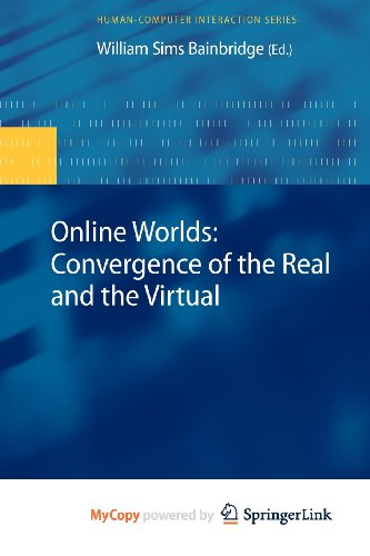 9781848828261: Online Worlds: Convergence of the Real and the Virtual