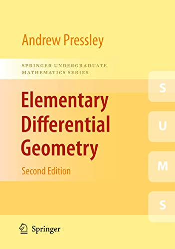 9781848828902: Elementary Differential Geometry (Springer Undergraduate Mathematics Series)