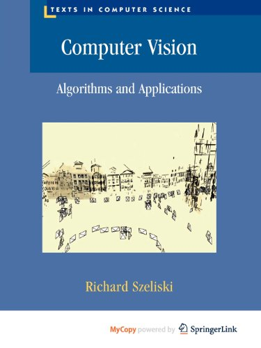 "Computer Vision 9781848829466 Computer Vision: Algorithms and Applications explores the variety of techniques commonly used to analyze and interpret images. It also describes challenging real-world applications where vision is being successfully used, both for specialized applications such as medical imaging, and for fun, consumer-level tasks such as image editing and stitching, which students can apply to their own personal photos and videos. More than just a source of ""recipes,"" this exceptionally authoritative and comprehensive textbook/reference also takes a scientific approach to basic vision problems, formulating physical models of the imaging process before inverting them to produce descriptions of a scene. These problems are also analyzed using statistical models and solved using rigorous engineering techniques. Topics and features: structured to support active curricula and project-oriented courses, with tips in the Introduction for using the book in a variety of customized courses; presents exercises at the end of each chapter with a heavy emphasis on testing algorithms and containing numerous suggestions for small mid-term projects; provides additional material and more detailed mathematical topics in the Appendices, which cover linear algebra, numerical techniques, and Bayesian estimation theory; suggests additional reading at the end of each chapter, including the latest research in each sub-field, in addition to a full Bibliography at the end of the book; supplies supplementary course material for students at the associated website, http://szeliski.org/Book/. Suitable for an upper-level undergraduate or graduate-level course in computer science or engineering, this textbook focuses on basic techniques that work under real-world conditions and encourages students to push their creative boundaries. Its design and exposition also make it eminently suitable as a unique reference to the fundamental techniques and current research literature in computer vision."