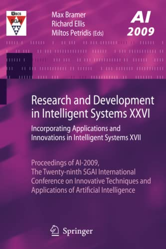 Research and Development in Intelligent Systems XXVI: Max Bramer