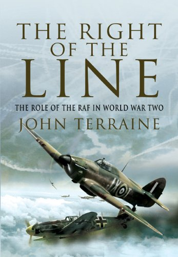 9781848841925: The Right of the Line: The Role of the Raf in World War Two