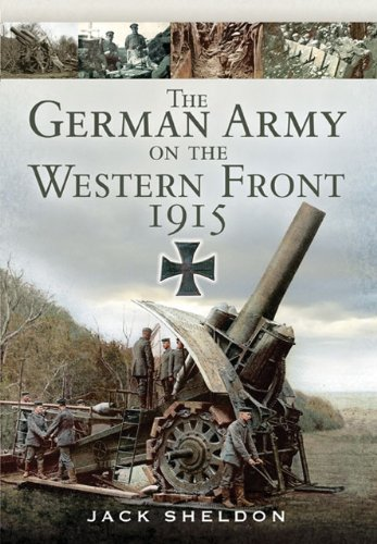 9781848844667: The German Army on the Western Front 1915