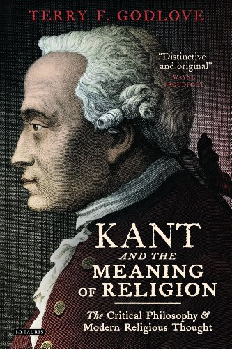 9781848855281: Kant and the Meaning of Religion: The Critical Philosophy and Modern Religious Thought