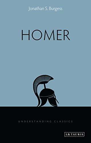 9781848858626: Homer (Understanding Classics)