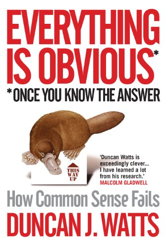 9781848872158: Everything is Obvious: How Common Sense Fails