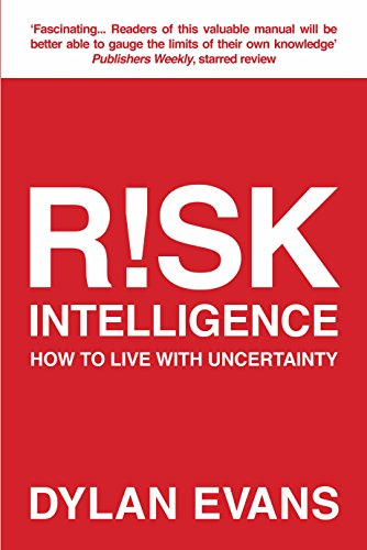 9781848877382: Risk Intelligence: How to Live with Uncertainty