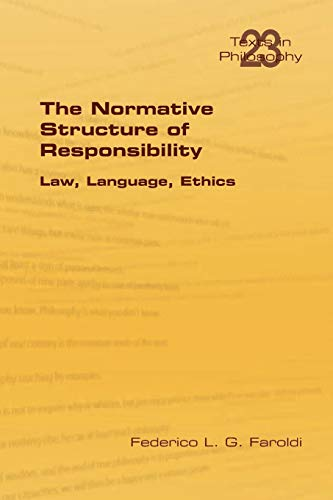 9781848901414: The Normative Structure of Responsibility (Texts in Philosophy)