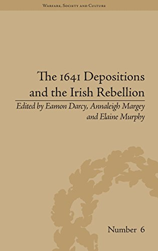 The 1641 Depositions and the Irish Rebellion: Annaleigh Margey
