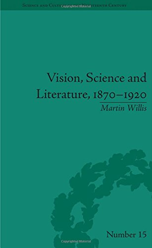 9781848932340: Vision, Science and Literature, 1870-1920: Ocular Horizons (Science and Culture in the Nineteenth Century)