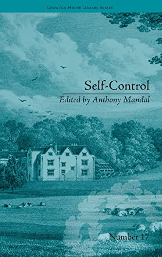 9781848934023: Self-Control: by Mary Brunton (Chawton House Library: Women's Novels)