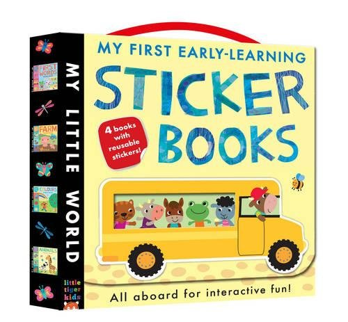 9781848959583: My First Early-Learning Sticker Books: Hop on Board for Interactive Fun! (My Little World)