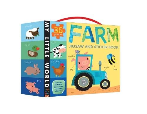 9781848959774: Farm Jigsaw and Sticker Book (My Little World)
