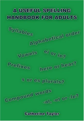 9781848970311: A Useful Spelling Handbook For Adults