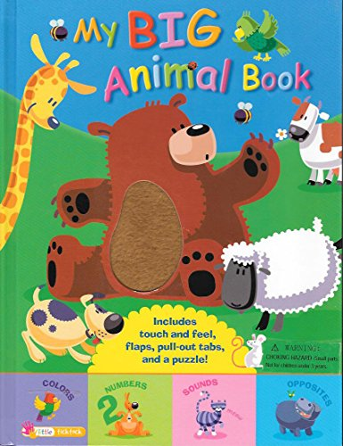 9781848981379: My Big Animal Book, with Flaps, Tabs, and a Puzzle