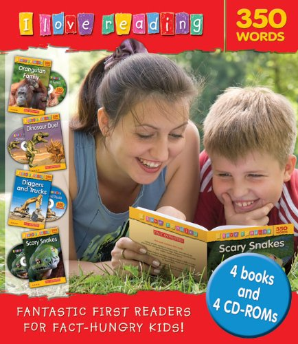 9781848981799: 350 Words (I Love Reading Book and CD-ROM Packs)