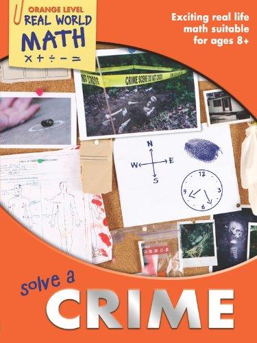 9781848981843: Real World Math Orange Level: Solve a Crime