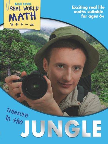 9781848989023: Real World Math Blue Level: Treasure in the Jungle