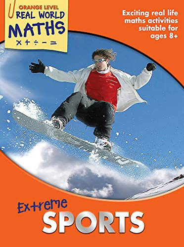 9781848989160: Real World Maths Orange Level: Extreme Sports