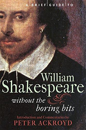 9781849010481: A Brief Guide to William Shakespeare