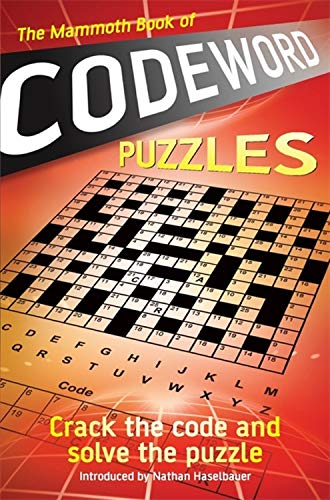 9781849015738: The Mammoth Book of Codeword Puzzles (Mammoth Books)