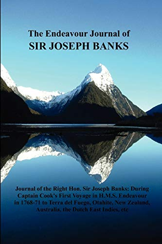 9781849021494: The Endeavour Journal of Sir Joseph Banks