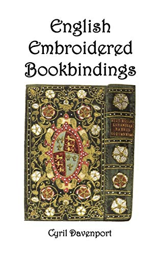 9781849025096: English Embroidered Bookbindings