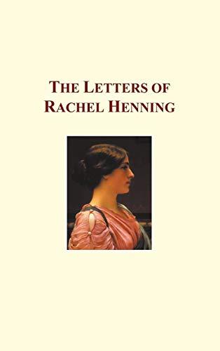 9781849025157: The Letters of Rachel Henning