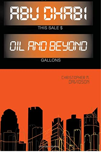 9781849041539: Abu Dhabi: Oil and Beyond