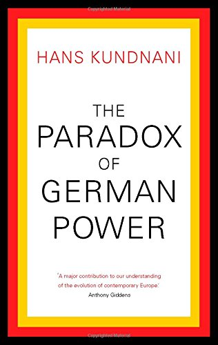 9781849044158: Paradox of German Power