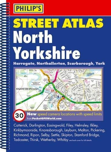9781849070027: Philip's Street Atlas North Yorkshire: Spiral Edition