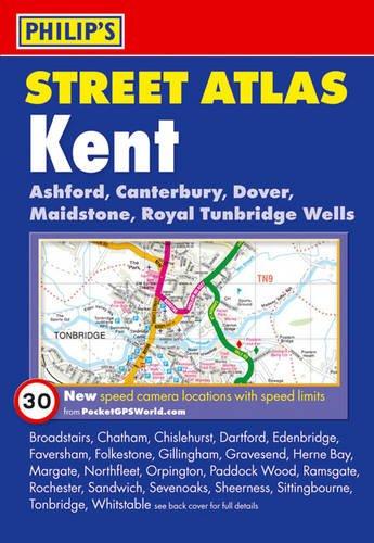 9781849070232: Philip's Street Atlas Kent: Pocket Edition